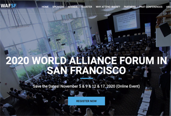 WAFSF web page image